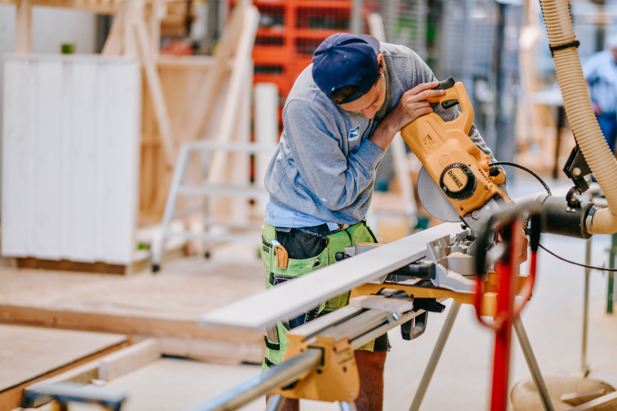 Tradesman, Workwear, Wood, Electrician