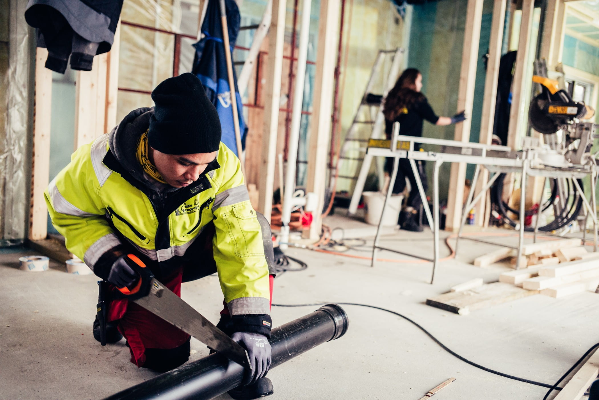 Blue-collar worker, High-visibility clothing, Service, Workwear