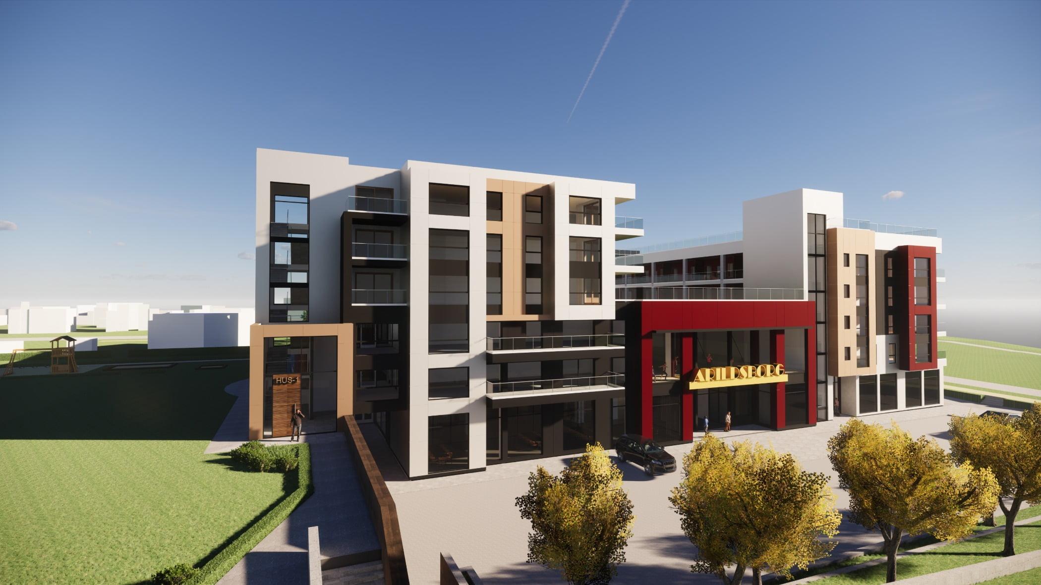 Interior design, Tower block, Land lot, Residential area, Plant, Building, Sky, Condominium, Neighbourhood
