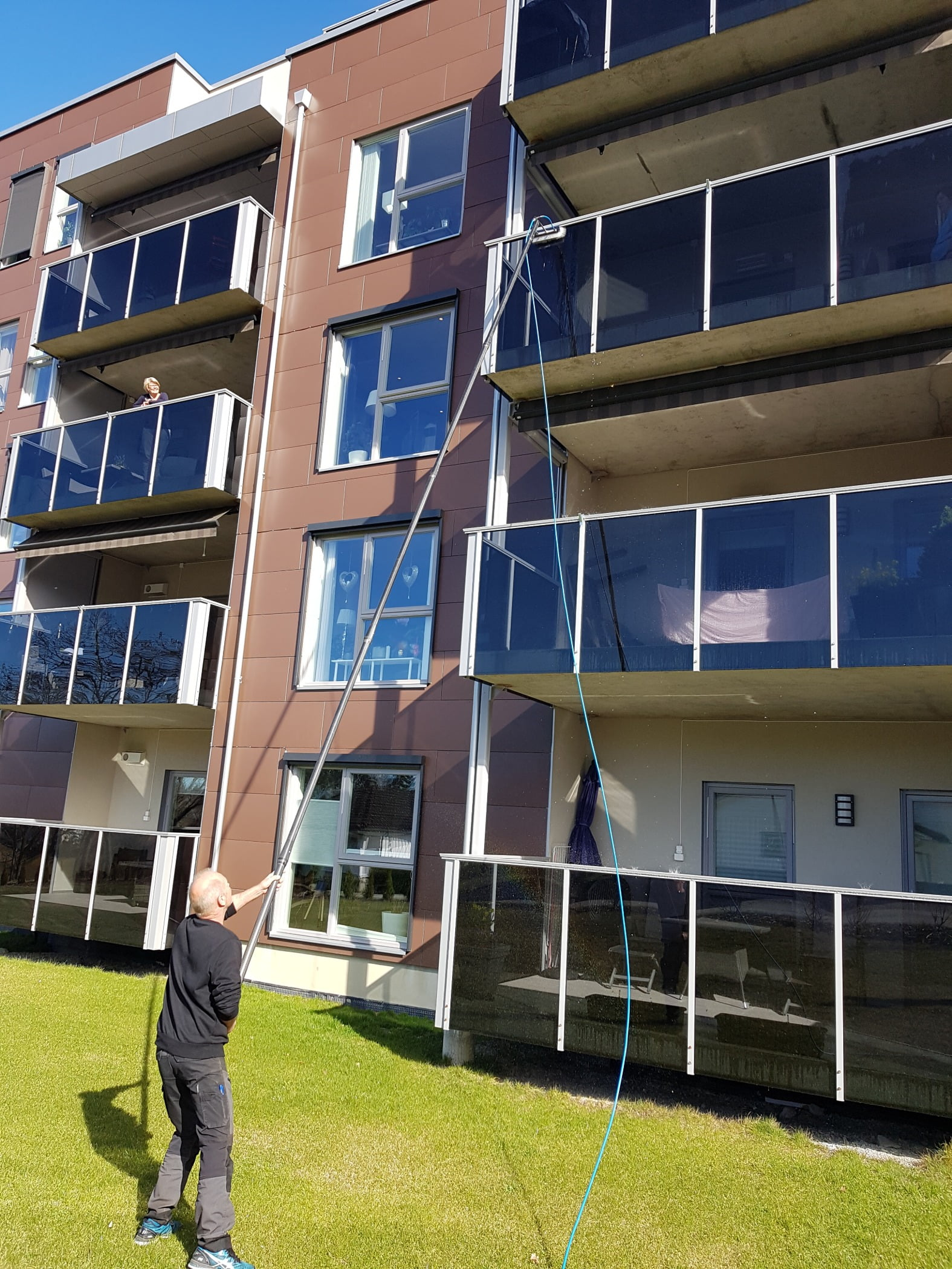 Tower block, Urban design, Residential area, Building, Window, Architecture, Condominium, Grass, Neighbourhood, Plant
