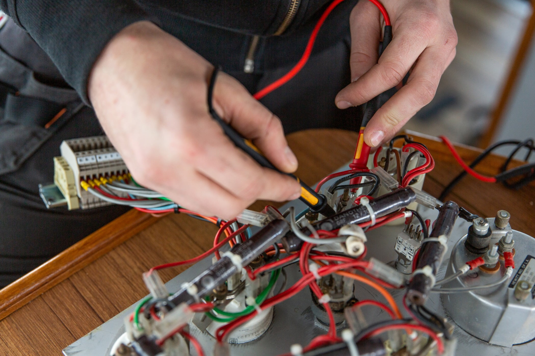 Circuit component, Electrical wiring, Hardware programmer, Electrician