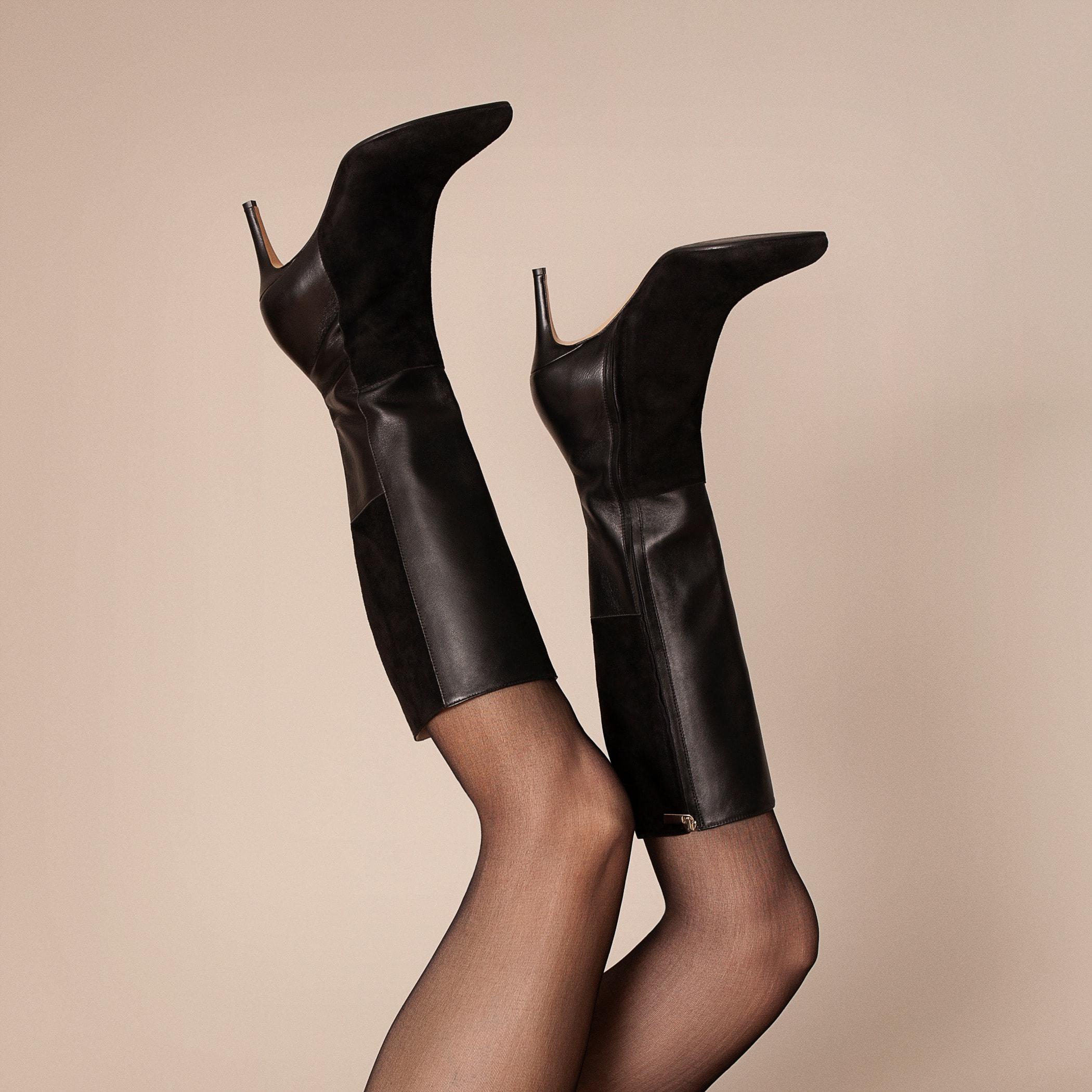 High heels, Footwear, Joint, Tights, Leg