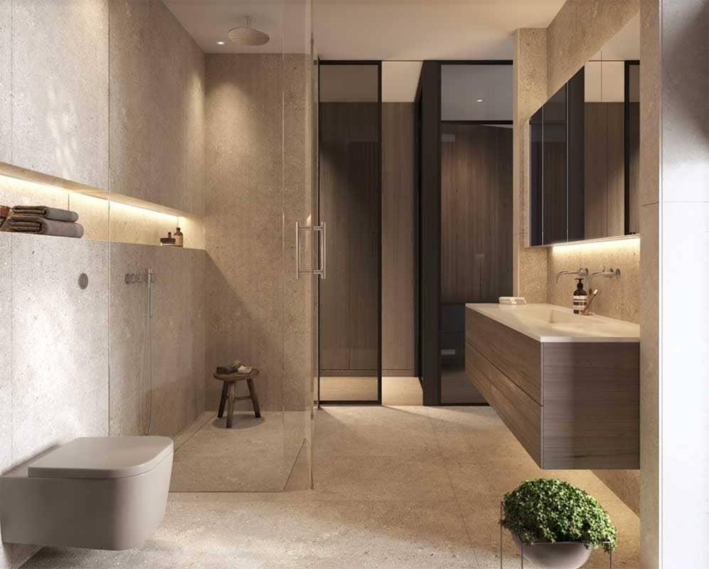 Plumbing fixture, Interior design, Tap, Floor, Tile, Property, Room, Bathroom